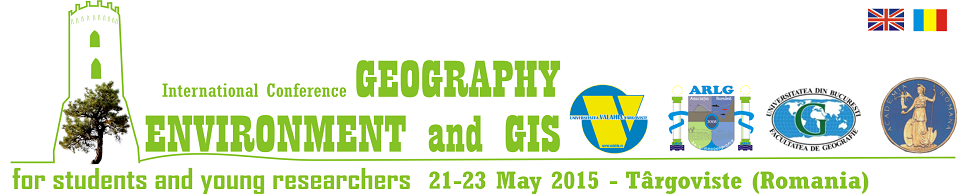International Conference Geography Environment and GIS 2015 for students and young researchers