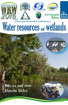 3rd International Conference Water resources and wetlands, 8-10 September 2016 Tulcea (Romania)